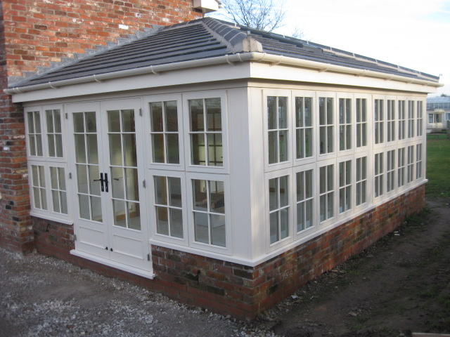 Wooden Conservatory, Holmes Chapel