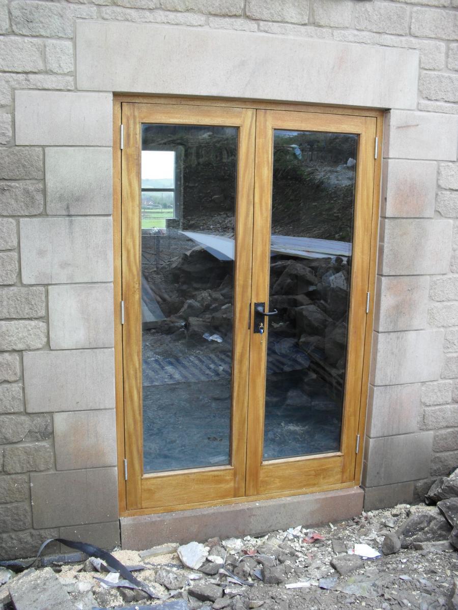 Custom made exterior doors wentworth staffordshire joinery services rubansaba